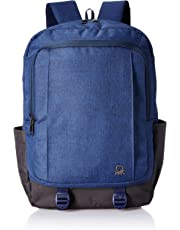 United Colors of Benetton 24 Ltrs Navy Laptop Backpack Organizer (0IP6BKPD0006I-203)