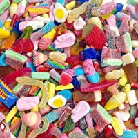 1kg Pick & Mix Sweets - Classic Retro Pick n Mix Candy Selection - More than 20 Different Pick and Mix Sweets
