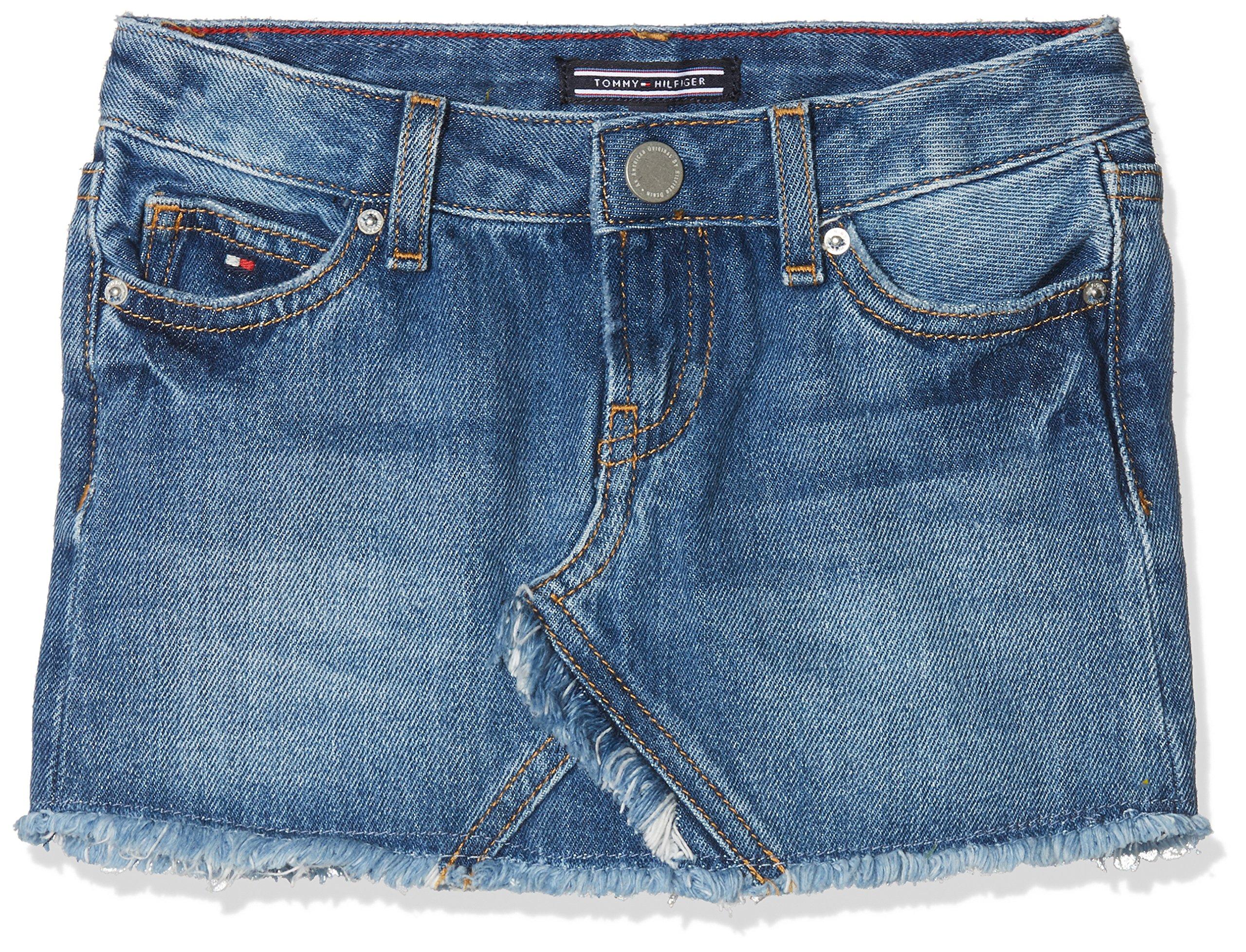 Tommy Hilfiger Basic Denim Skirt Gbri Falda para Niñas