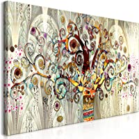 murando - Bilder Gustav Klimt Baum des Lebens 120x60 cm Vlies Leinwandbild 1 TLG Kunstdruck modern Wandbilder XXL…