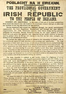 1916 The Proclamation of the Irish Republic A3 1916 Easter Rising Poster