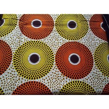Afrikanische Stoffe Ankara Java Wachs Print Baumwolle Bold Farbe ...