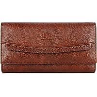 The Clownfish Leatherette Brown Women's Wallet