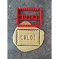 Emporte-pièce petit beurre - Personnalisable avec texte | Conçu et fabriqué en France