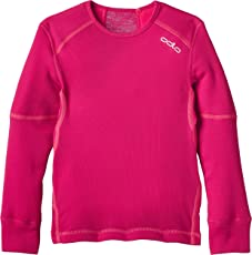 Odlo Kinder Jungen Shirt Long Sleeve Crew Neck X-Warm