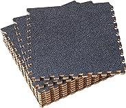 UMI. by Amazon 1' x 1'(30cm x 30cm) Schaumstoff Plüsch-Ineinandergreifende Bodenmatten (9 Pcs)