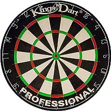 Kings Dart Sisal Bristle Professional Dartscheibe, Durchmesser: 44,5 cm
