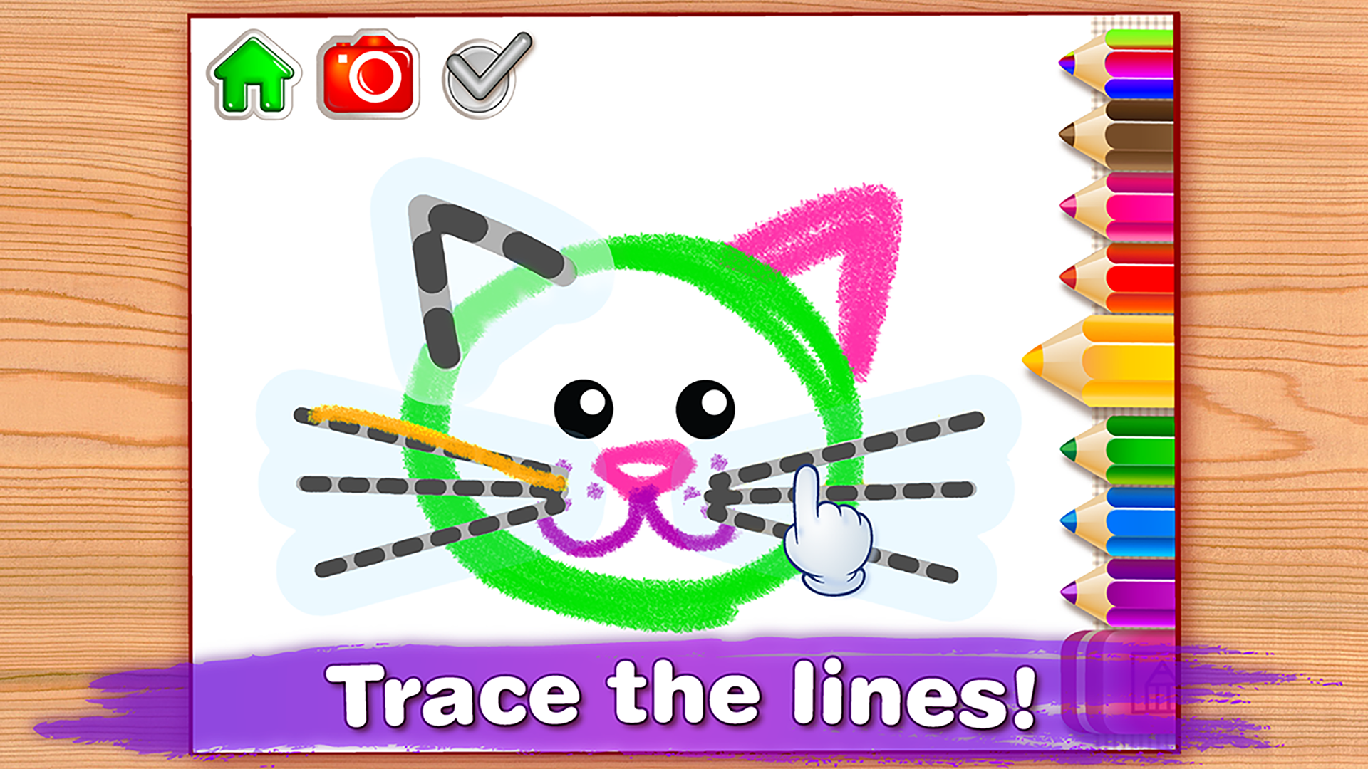 Drawing And Coloring Games Free Online BABY DRAWING FOR KIDS Preschool Educational Paint Games