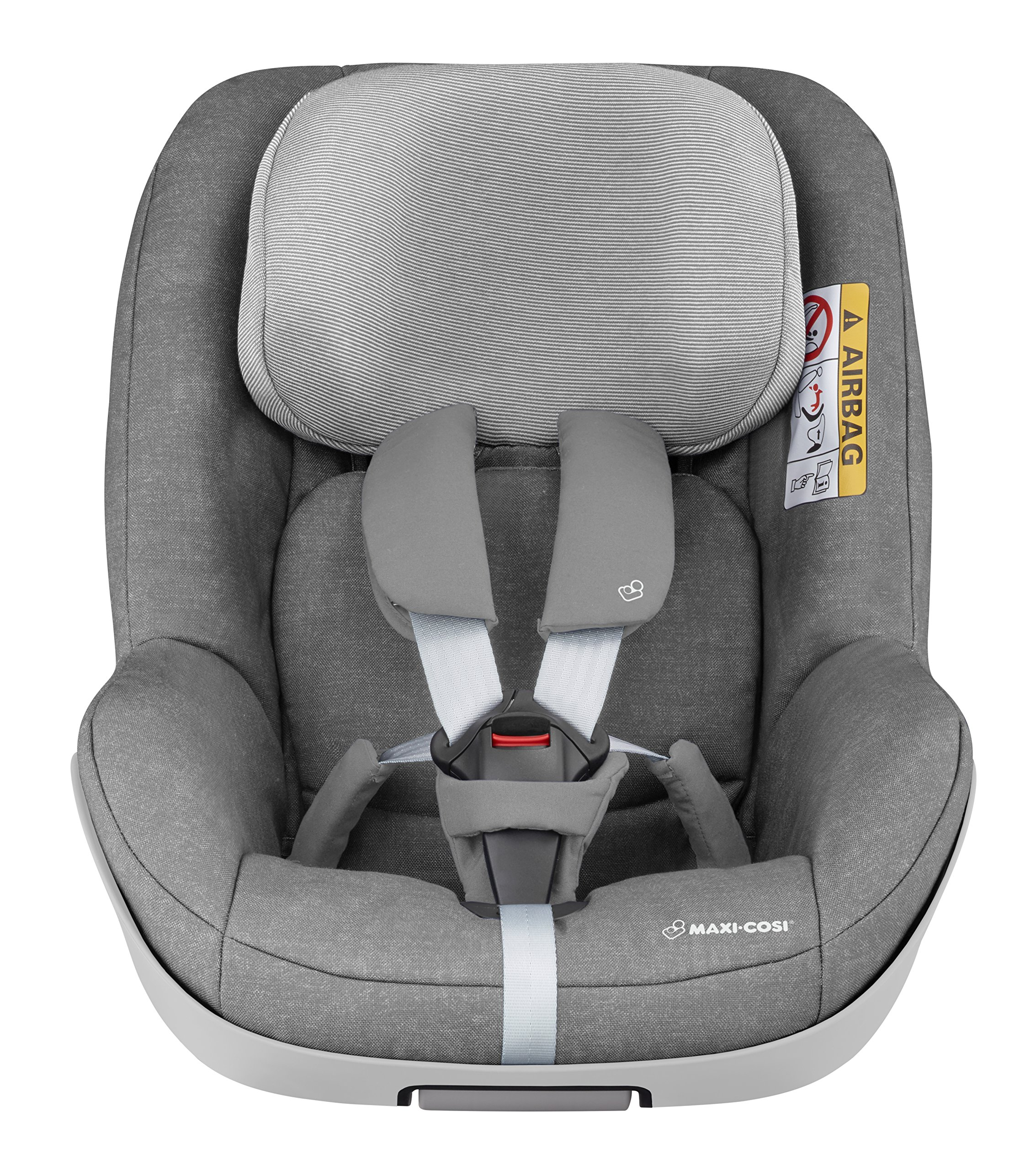Maxi-Cosi Pearl One i-Size Toddler Car Seat Group 1, Rear-Facing Car Seat, ISOFIX, 67-105 cm, 6 Months-4 Years, Nomad Grey Maxi-Cosi Must be used with the maxi-cosi family fix one i-size base Approved according to the latest european safety standard i-size (r129) Innovative stay open harness to easily get the child in and out in seconds 3