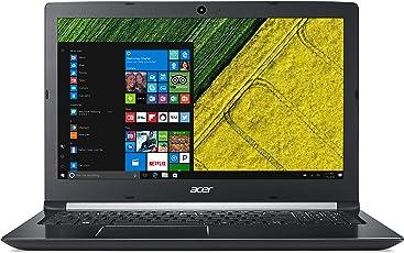 "Acer Aspire A515-51G-51V7 Notebook, Display 15.6"" HD Comfyview LCD, Processore Intel Core I5-8250U, RAM 8 GB Ddr4, 1000 GB HDD, Scheda Grafica Nvidia GeForce Mx150, Nero [Layout Italiano]"