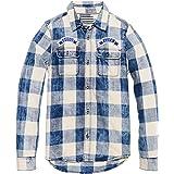 Scotch & Soda Checked Indigo Shirt Blusa para Niños