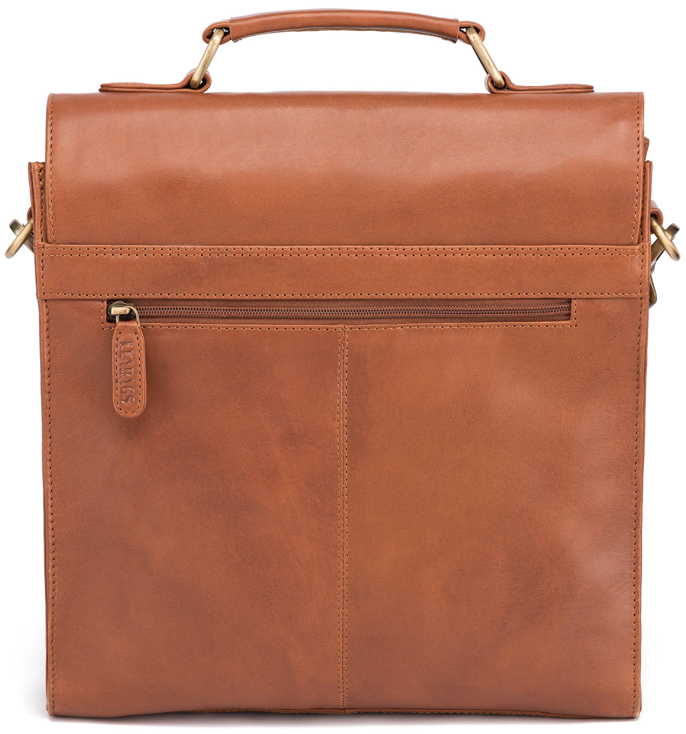 A1M4knEolZL - LEABAGS Lille maletín de auténtico Cuero búfalo en el Estilo Vintage