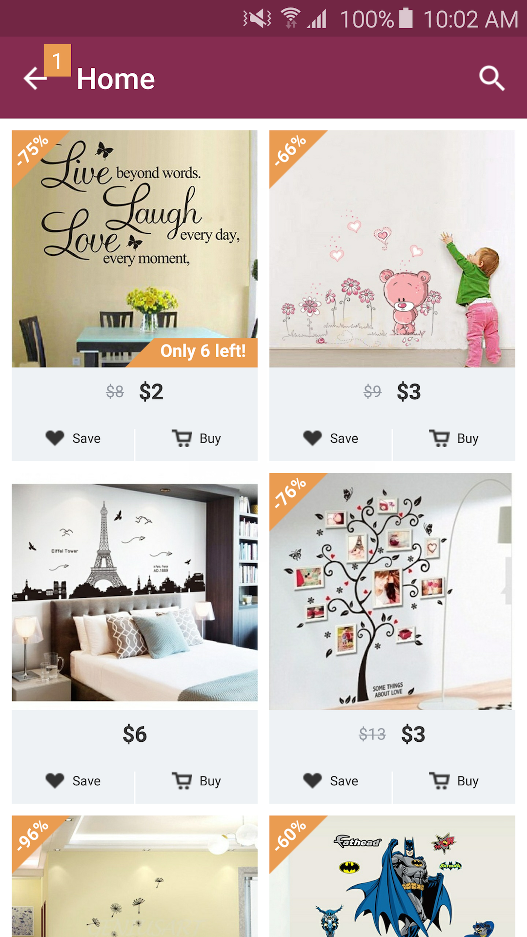 Home Design Decor Shopping Amazoncouk Appstore for Android