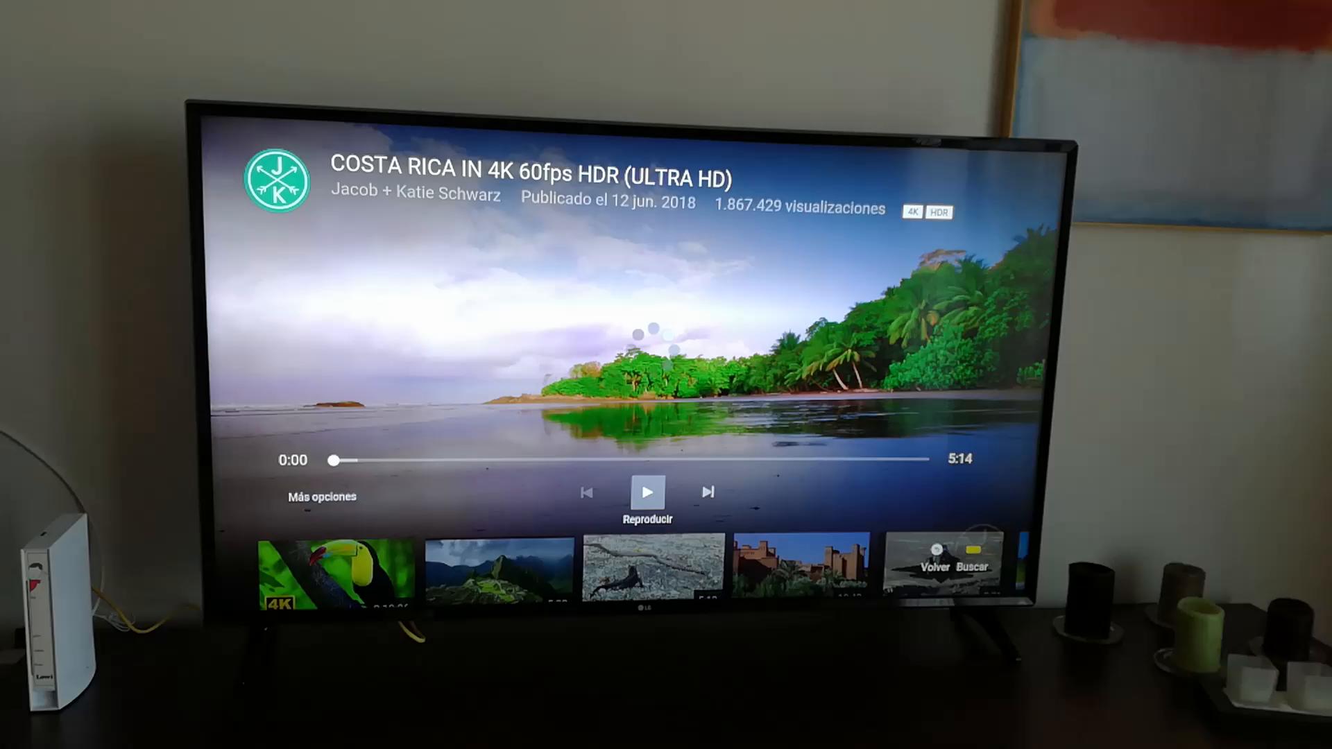 LG 65UK6100PLB - Televisor de 65 (Smart TV, 4K Ultra HD, 3840 x 2160), Color Negro: 845.79: Amazon.es: Electrónica