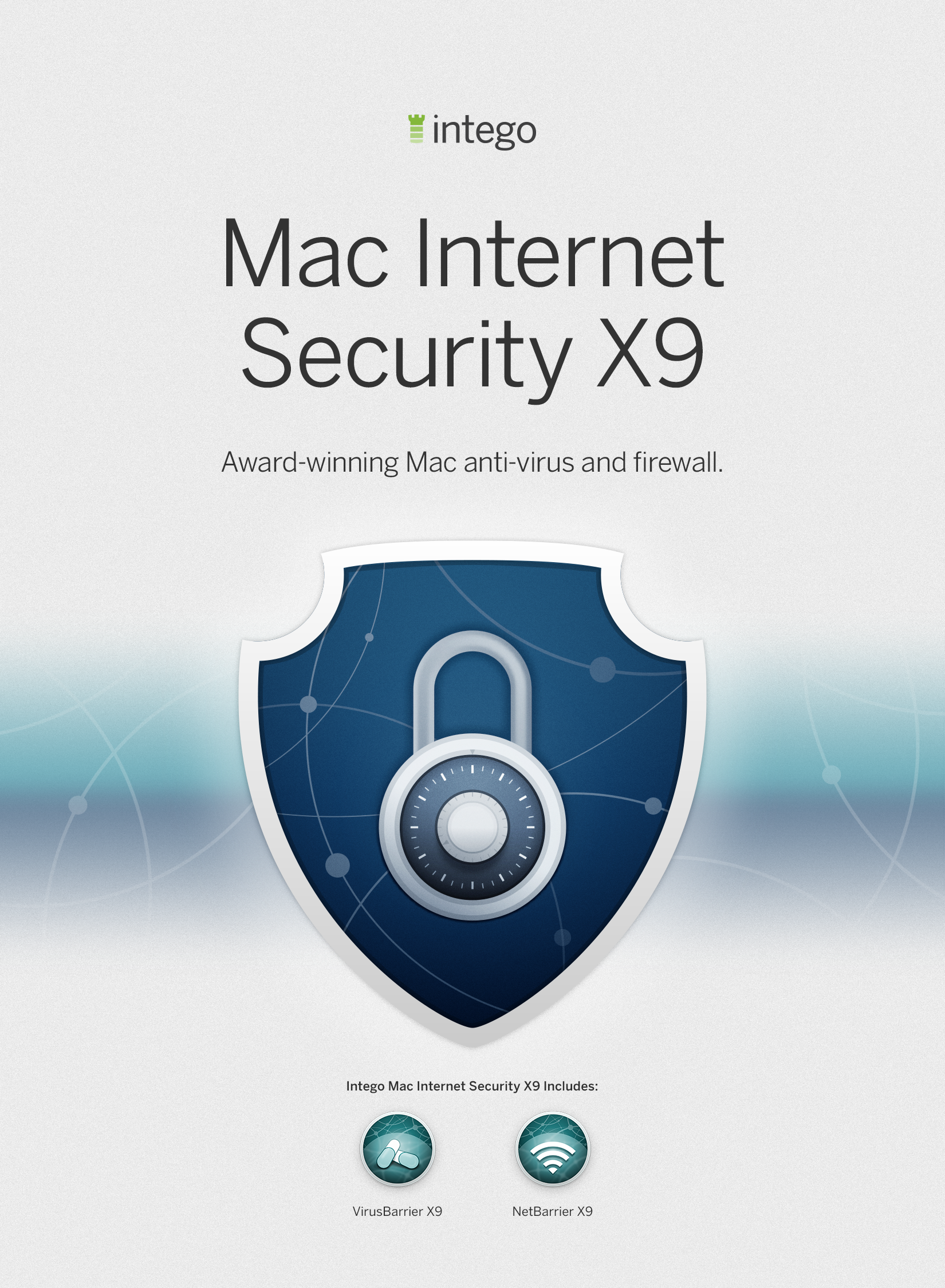 Intego Mac Internet Security X9 - 1 Mac - 1 year protection...