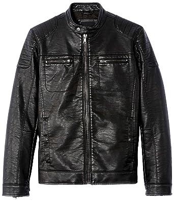 celio veste cuir homme les vestes la mode sont populaires partout dans le monde. Black Bedroom Furniture Sets. Home Design Ideas