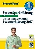 SteuerSparErkl�rung 2018 f�r Lehrer (f�r Steuerjahr 2017)  Bild