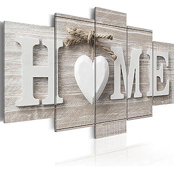murando bilder home 100x50 cm vlies leinwandbild 5 teilig kunstdruck modern wandbilder. Black Bedroom Furniture Sets. Home Design Ideas