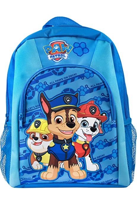 Paw Patrol Mochilas Escolares Juveniles Patrulla Canina Mochila Infantil Colegio o Guarderia Mochila Escolar Mighty Pups Regalos para Ni/ños Ni/ñas Material Escolar para Ni/ños