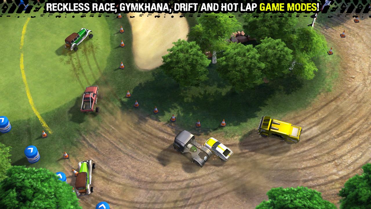 скачать игру на андроид reckless racing 2 много денег