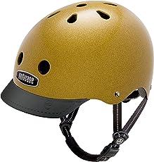 Nutcase - Gemusterter Street Bike Helm für Erwachsene