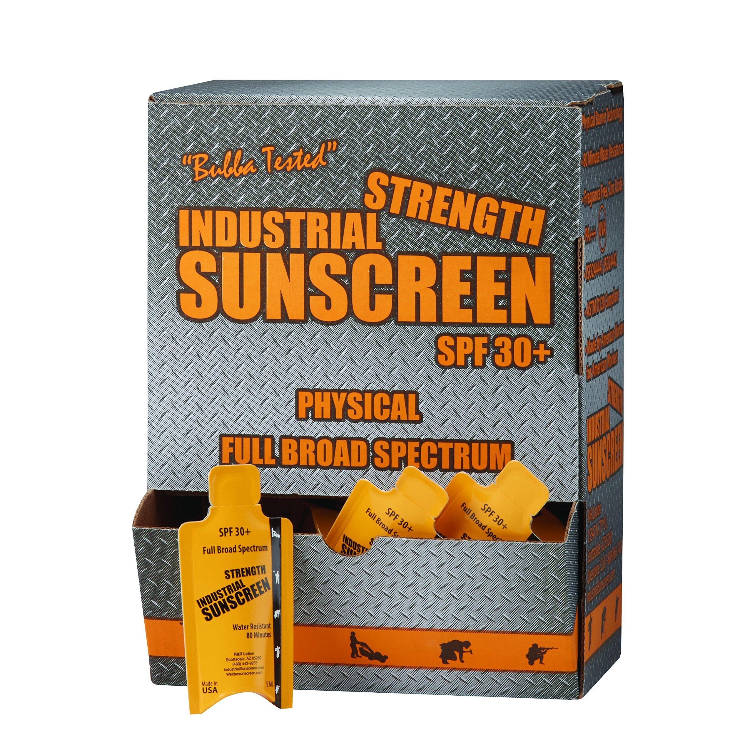 R&R Lotion ICSSP-50-30+ – Protector solar industrial (5 onzas de capacidad) Capacidad, 5 ml