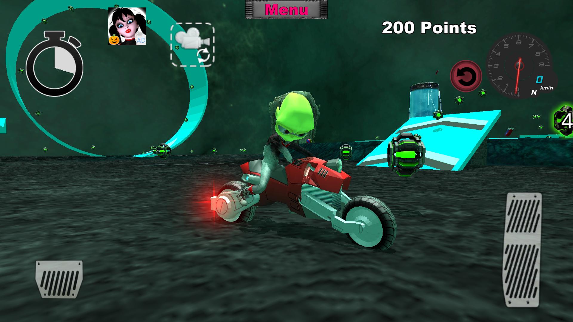 Zoom IMG-2 bike future race alien world