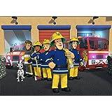 SAM le Pompier papier peint Stickers Enfants Chambre ? coucher gar?ons filles Art mural papier peint mural Grande taille