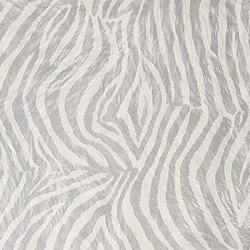 superfresco easy paste the wall zebra silver glitter