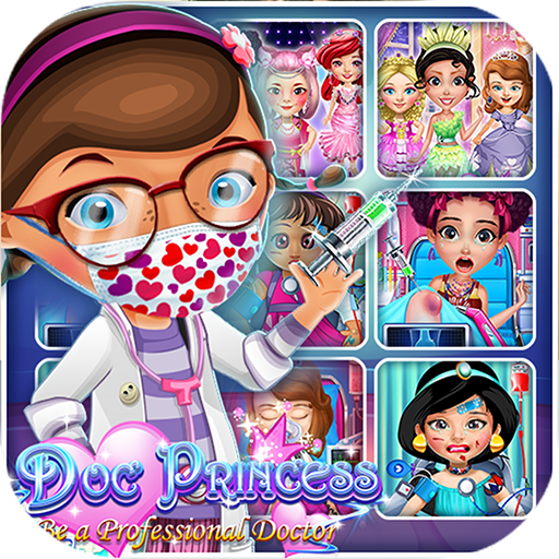 Doctor Princess Hospital Games