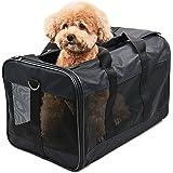 Hitchy Hundebox Transportbox für Katzen, Kleine Hunde, Kätzchen oder Welpen, Airline zugelassen, Reisefreundliche