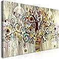 murando Impression sur Toile intissee Gustav Klimt 120x60 cm Tableau 1 Peice Tableaux Decoration Murale Photo Image Artistiqu