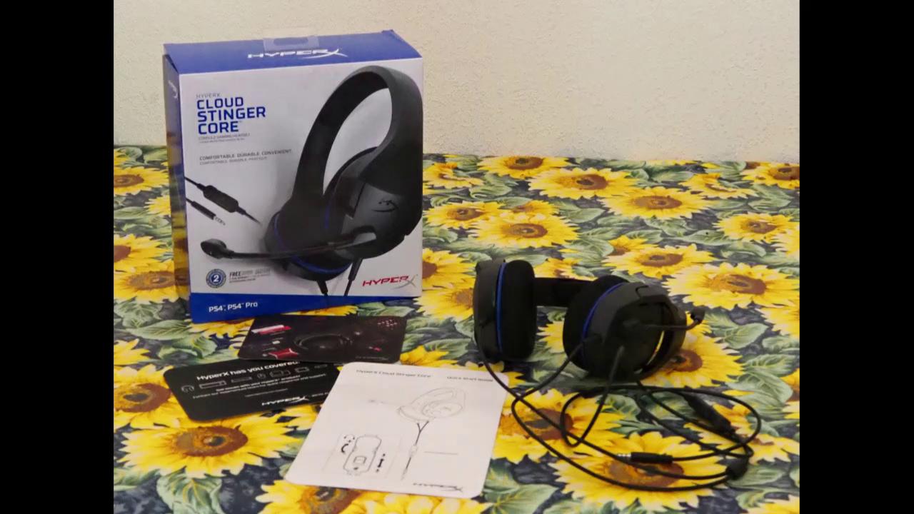 HyperX Cloud Stinger Core - Auriculares para Juegos de Consola: Amazon.es: Informática