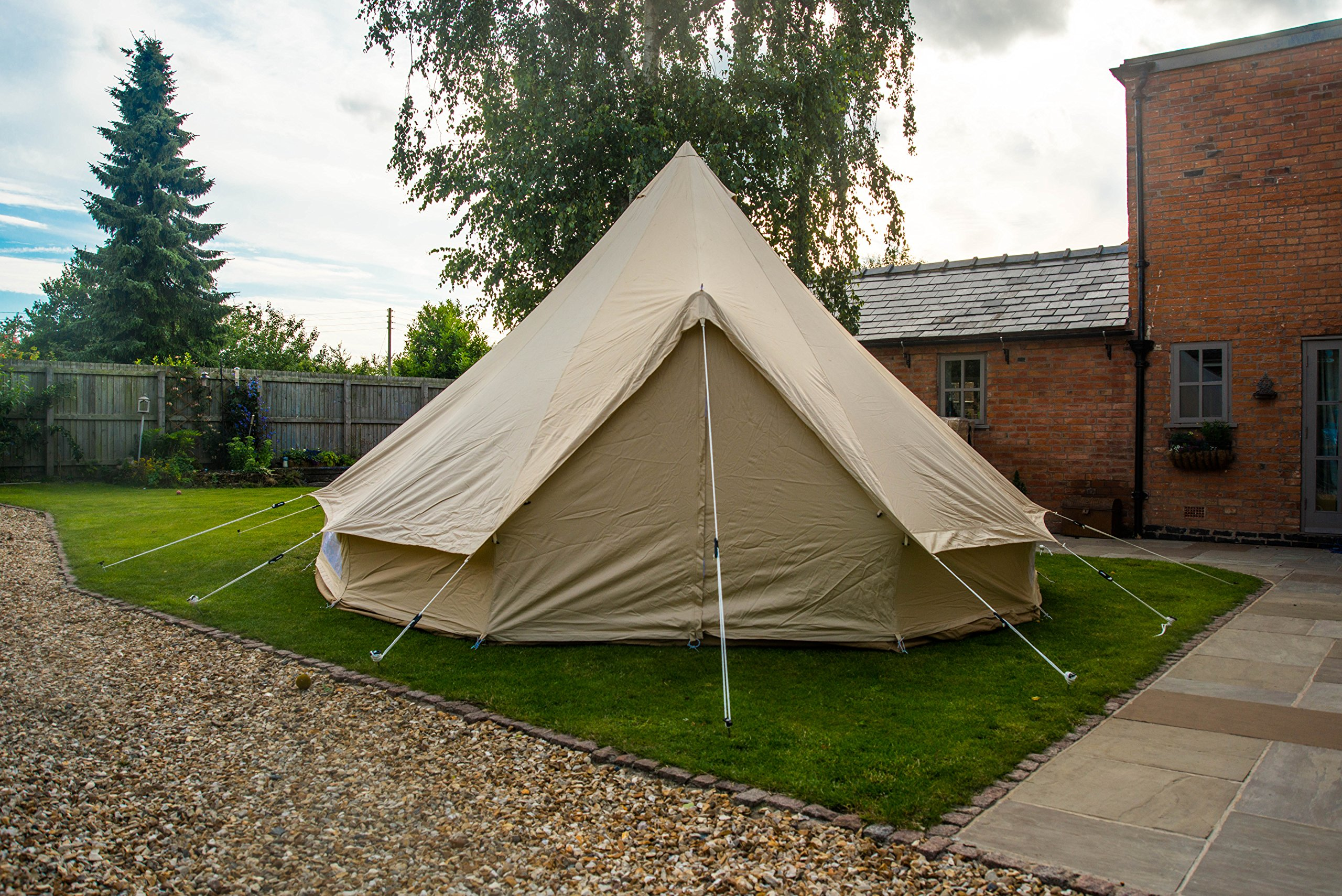 Bell Tent 5 metre with zipped in groundsheet by Bell Tent Boutique 8