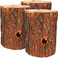 com-four® 3X Swedish Fire with ignition wick, fin torch for outdoor cooking areas, tree torch, garden torch