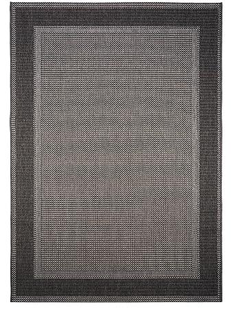 Pflegeleichter teppich  benuta In- & Outdoor Teppich Riso Grau 80x150 cm | Pflegeleichter ...