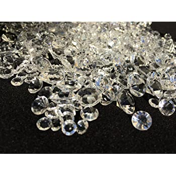 große Strass-Steine rund zum Aufkleben Acryl-Diamanten Set  kristall