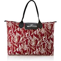 Kuber Industries Canvas 50 cms Multicolour Shopping Bag (TRAVEL20304)