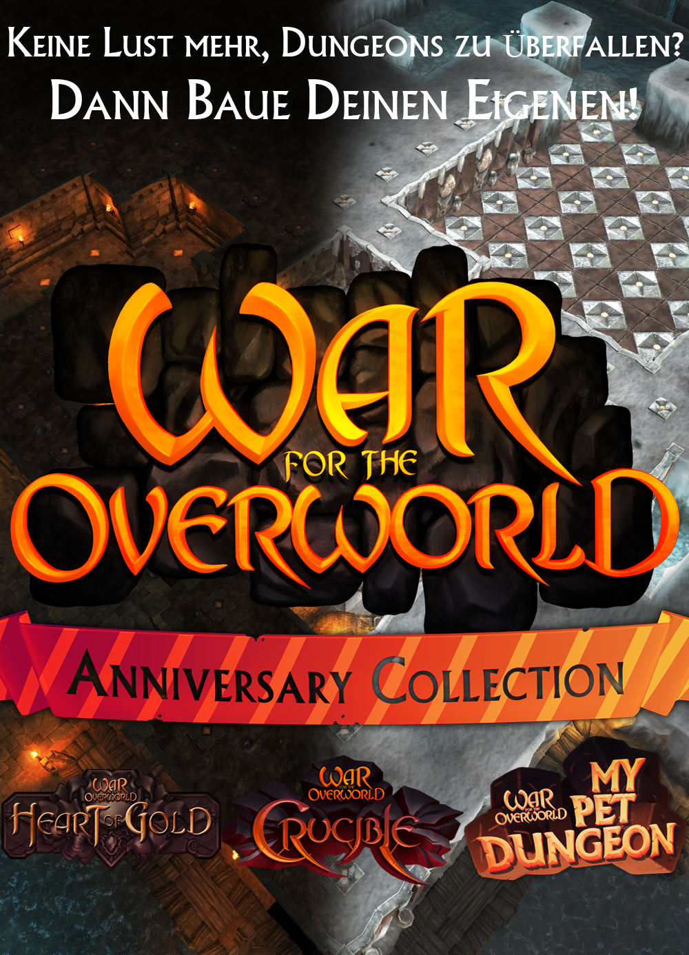 War for the Overworld - Jubiläums Sammlung [PC/Mac Code - Steam] Mac-sammlung