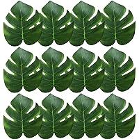 iLoveCos Feuilles de Palmiers Tropicaux Simulation Feuille Artificielle pour de décoration Hawaiian Luau Partie Jungle…
