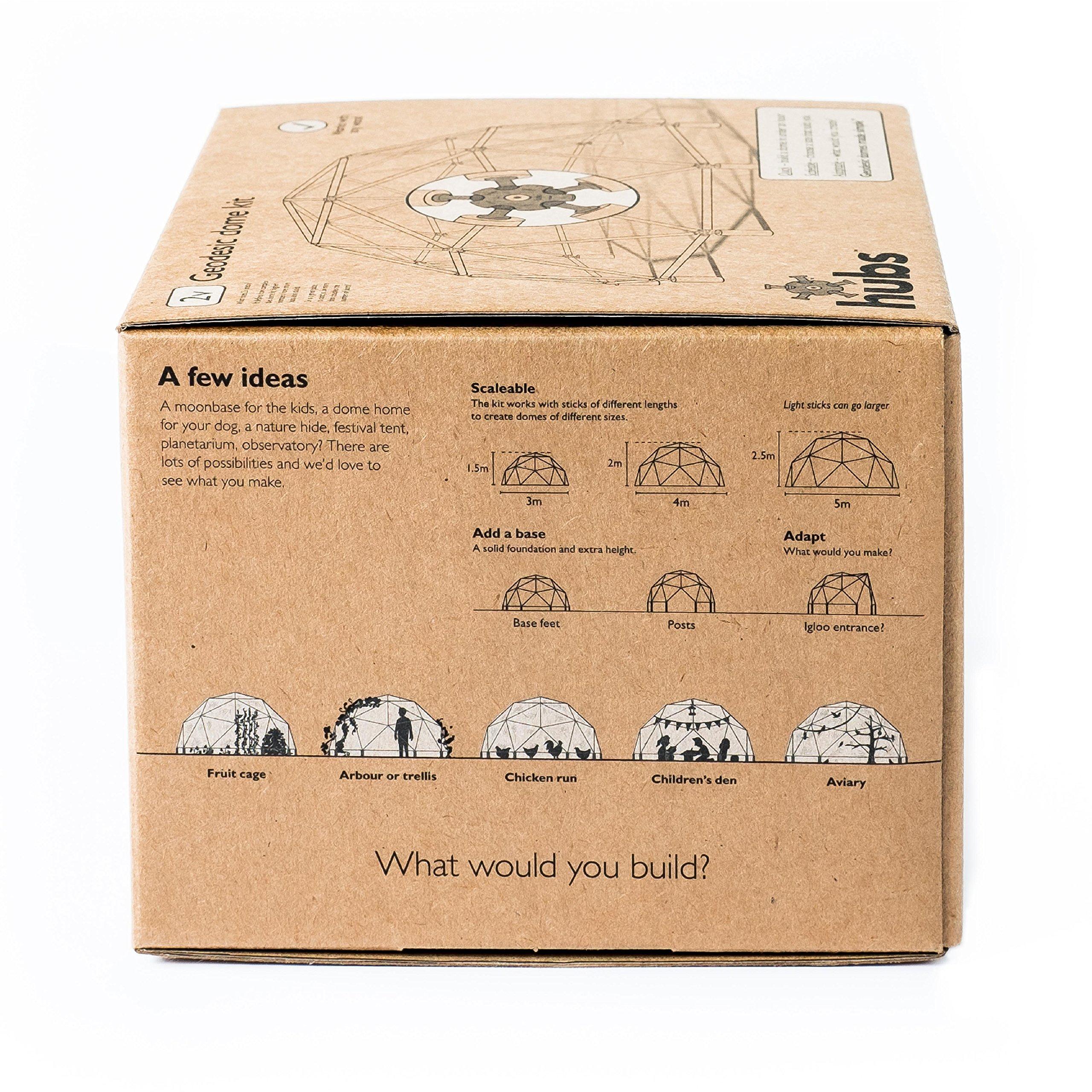 bausatz f r eine geod tische kuppel ebay. Black Bedroom Furniture Sets. Home Design Ideas