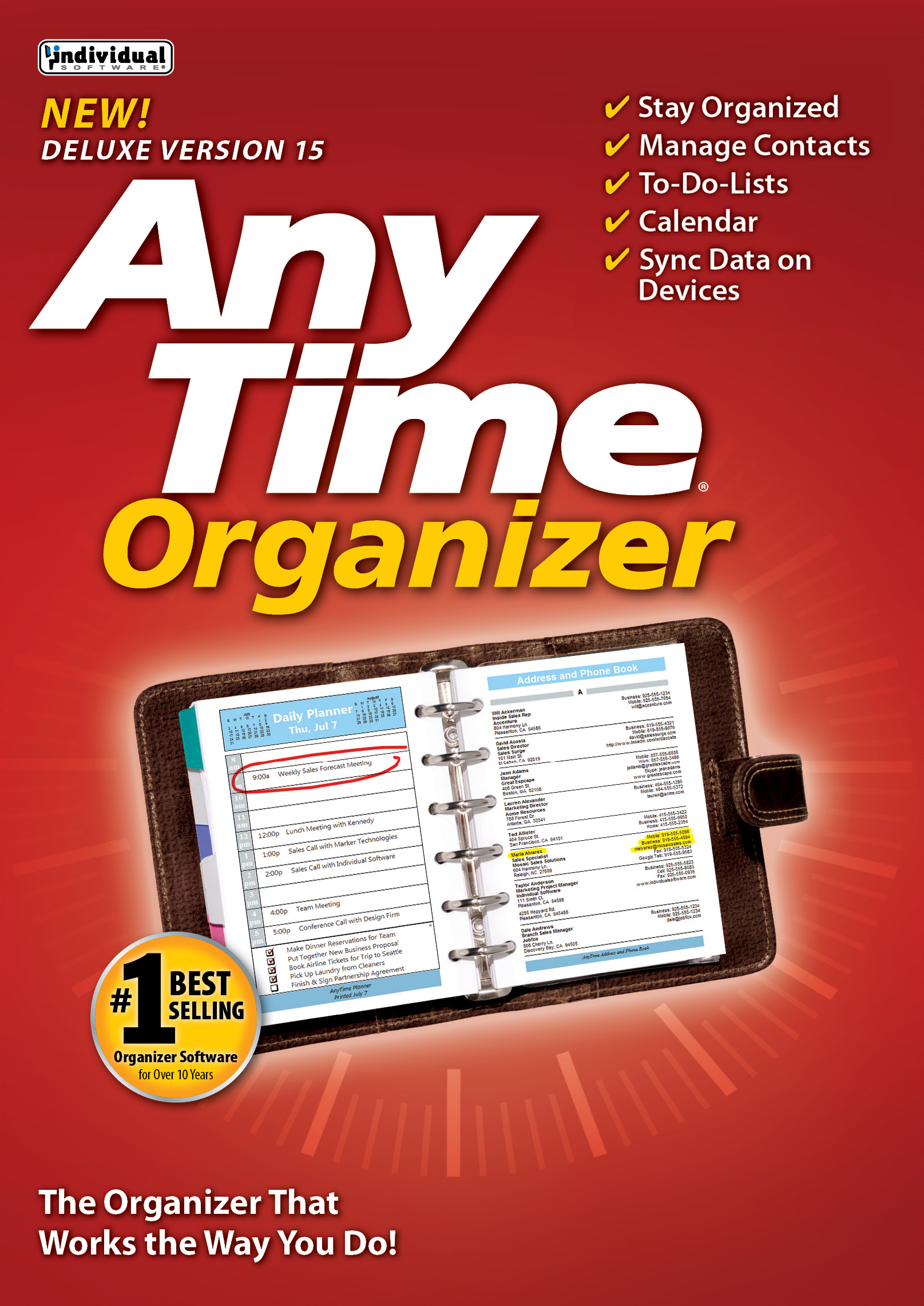 AnyTime Organiser Deluxe 15 - Free 14-Day Trial [Download]