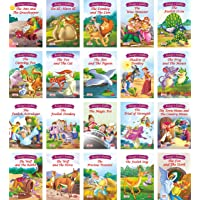 Moral Stories from Aesop Fables (english) set of 20 books