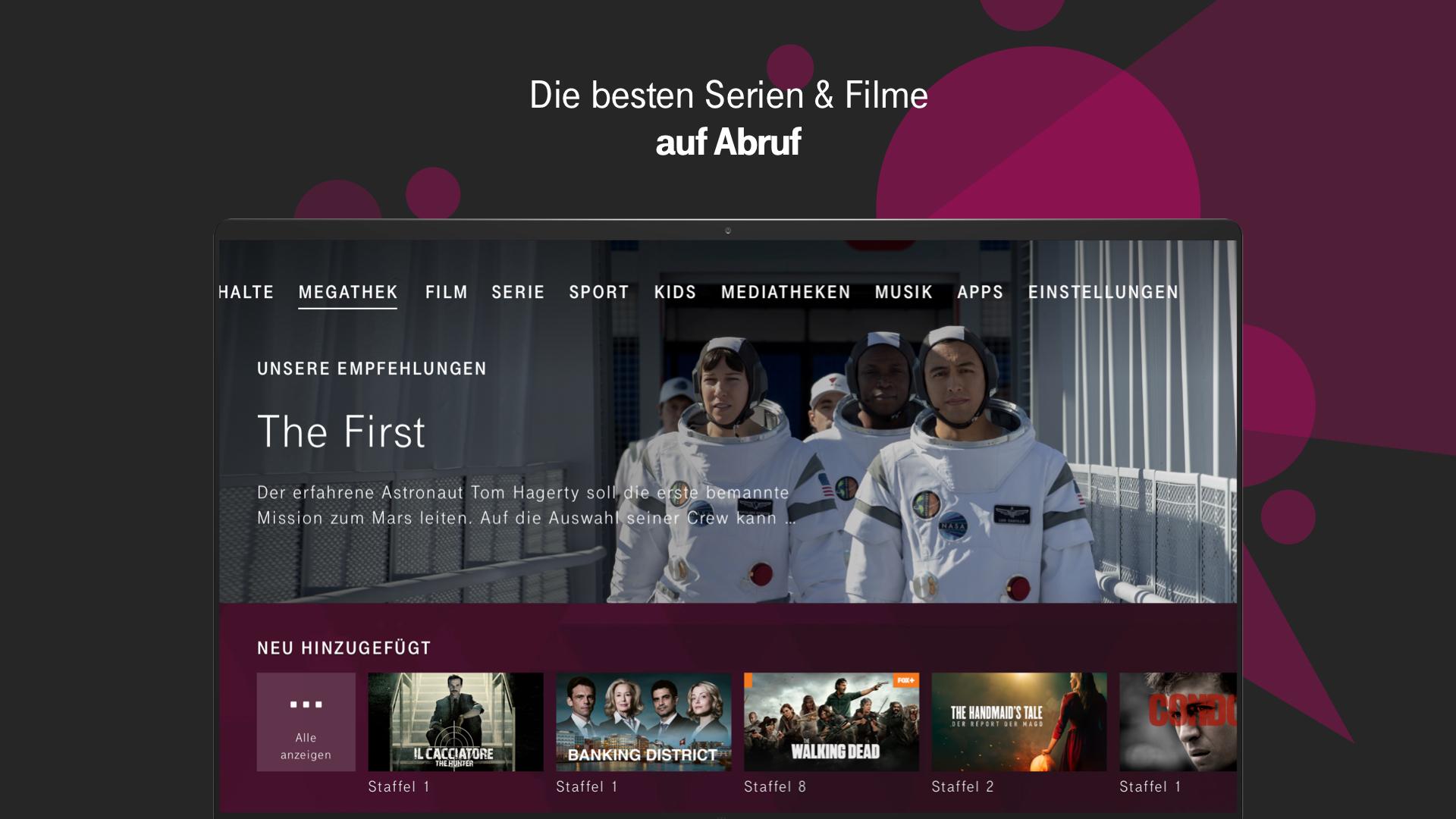 Magentatv Serien Filme Fernsehen Streaming