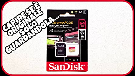 Sandisk Extreme Plus 64gb Microsdxc Class 10 Computer Zubehör