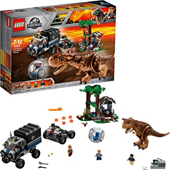 Lego Kids 'Jurassic World - Carnotaurus Gyrosphere Escape' Set - 75929