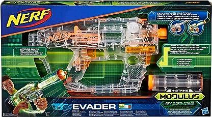 Hasbro Nerf E0733EU4 N-Strike Modulus Shadow Ops Evader, Spielzeugblaster