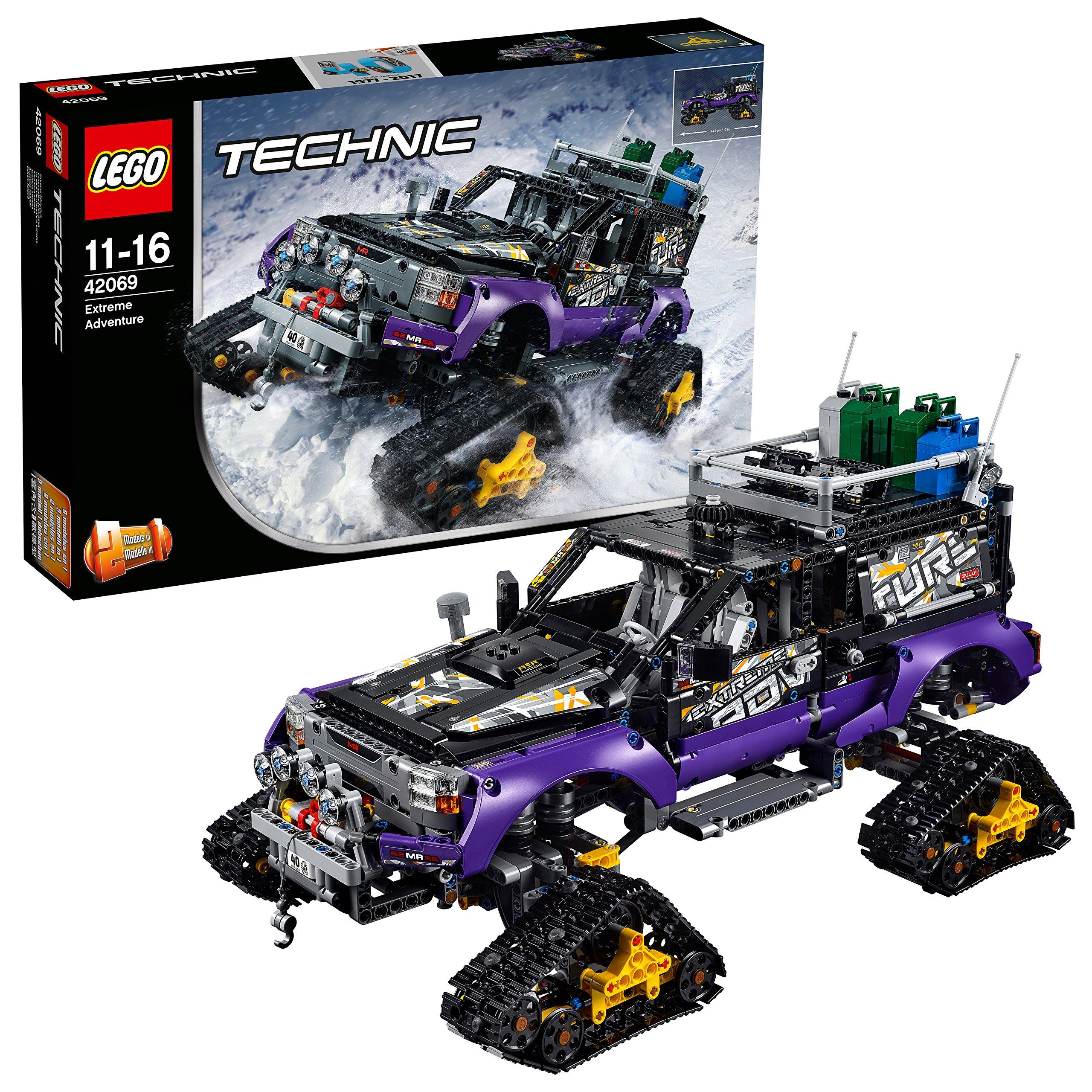 LEGO Technic 42069 – Extremgeländefahrzeug mit vier Laufketten