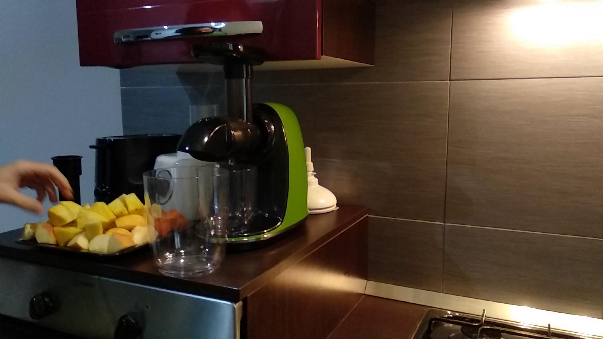 CIRAGO Licuadora Prensado en Frio, Fruta y verdura, Extractor de ...