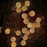 Guirlande Lanterne, Guirlande Lumineuse 3,2M 20LEDs, Lanterne Chinoise, Guirlande à Pile Guinguette Décoraion Intérieure Exté